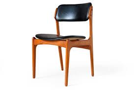 rosengren hansen brande rosewood dining chairs erik buck 49 o d