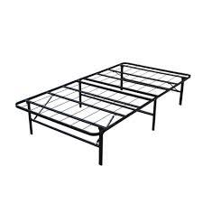 Homegear platform metal bed frame mattress foundation twin walmart