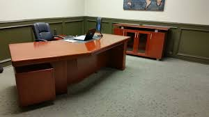 new office desk. New York AARON Angular Executive Desk Office S