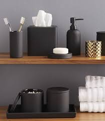 black bathroom accessories. Brilliant Black 13 Ideas For Creating A More Manly Masculine Bathroom  Matte Black  Bathroom Accessories Add A Masculine Touch And Pack Style Punch In Black Accessories