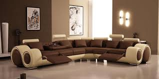 cool sectional couches. Fine Couches Amazing Living Room With Unique Sectional Sofas In Brown Recliner Plus  Wall Paint And For Cool Sectional Couches C
