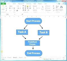 Make A T Chart In Word Mesmerizing How To Make Flow Chart Metalrus
