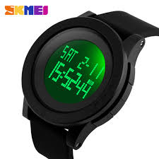 SKMEI luminous Men Digital <b>Watch</b> Chrono Alarm <b>Sports Watches</b> ...