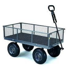 yard cart utility garden wagon gorilla carts lb capacity lawn push rubbermaid small garden cart rubbermaid dump
