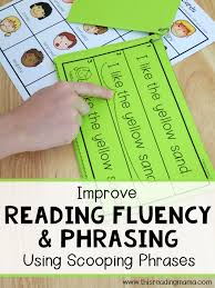 Reading Fluency and Phrasing {Using Scooping Phrases} - This ...