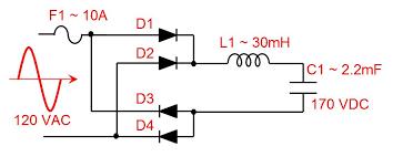 making a full bridge rectifier electroboom full bridge rectifier and filters