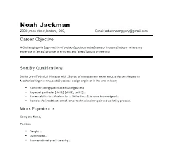 Writing The Objective For A Resume Resume Samples Objective Sample ...