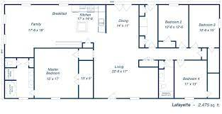 metal homes floor plans barndominium