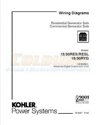 residential commercial wiring diagram manuals kohler manuals kohler product literature tp 6437