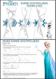 Disney Frozen Snowflake Templates I Love Making Snowflakes