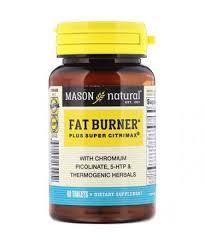 Mason Natural <b>Fat Burner Plus Super</b> Citrimax 60 Tablets