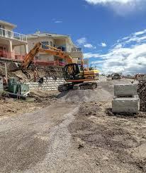 magnumstone soil nailing rening wall installation