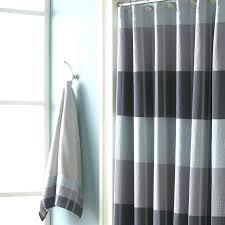 slate shower curtain blue gray yellow fl curtains fabric