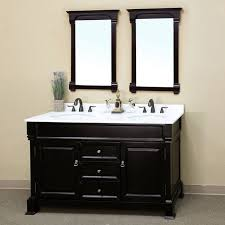 Bathroom Vanity Double Impressive Bathroom Dark Wood Vanity And Double Sink Vanity Top Also