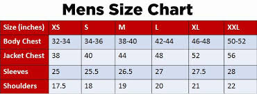 Ideal Waist Measurement Chart How To Measure Your Body For Mens Jacket Lusso Leather