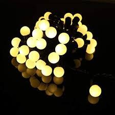 BIENNA Globe String Lights, 20 ft/6 M 50 LED Ball ... - Amazon.com