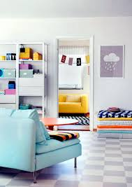 like a bowl full of colorful cans present this living room furniture pastel colors are propagated in the living room in a good mood and can be combined