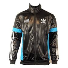 adidas tracksuit. mens adidas originals chile 62 tt black track suit top jacket retro wet look tt1 tracksuit