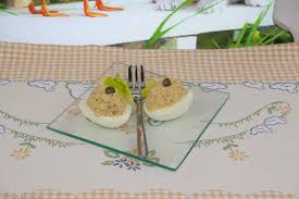 Uova ripiene con ceci ricette di cucina