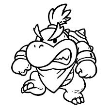 Super Mario Bros 159 Video Games Printable Coloring Pages