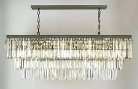restoration hardware chandelier retro glass fringe rectangular chandelier restoration hardware chandeliers