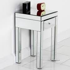 mirrored side table. Popular Mirrored Small Side Table Decoration Ideas Of Kids Room Collection Mirror Top End