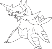 Small Picture Pokmon Black and White coloring pages Free Coloring Pages