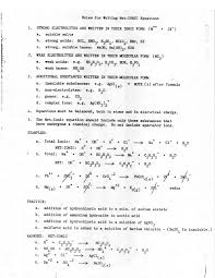 practice problems on net ionic equations worksheet answers