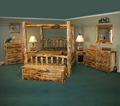 Pine Log Bedroom Furniture Rustic Wood Bedroom Furniture