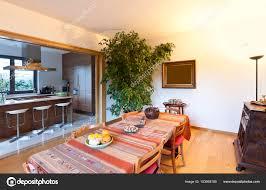Mooi Appartement Interieur Woonkamer Stockfoto Zveiger 183955188