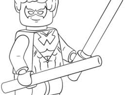 Lego Nightwing Coloring Pages 2019 Open Coloring Pages