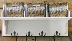 Coat Rack With Storage Baskets Awesome Carousel Home Wicker Storage Unit With 32 Baskets And Coat Hook