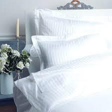 satin stripe duvet cover white bedding sets comforter set