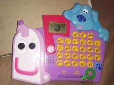 mailbox blues clues toy.  Toy Blues Clues Alphabet Mailbox Electronic Educational Computer Game Mattel  2000 For Toy
