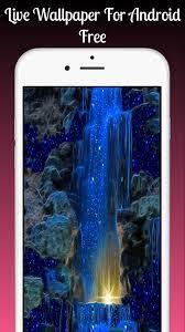 Magic Blue Fall Live Wallpaper Magic ...