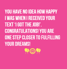 Congratulations Email For New Job 35 Congratulations On New Job Wishesgreeting