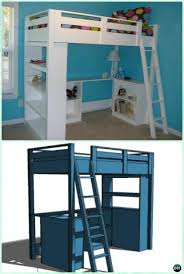 kids bunk beds diy. Unique Beds Wonderful Diy Kids Bunk Bed Free Plans Picture Instructions Savor Leisure  Upon Personal Residence And Beds