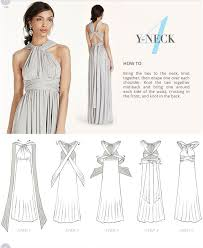Infinity Dress Pattern Gorgeous Versa David's Bridal Infinity Dress Pinte