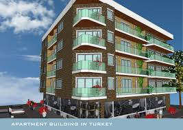 Small Apartment Building Design - Modern apartment building elevations