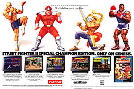 video game ad of the day street fighter ii special champion edition