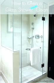 keep glass shower doors clean rain x door if you love a but cleaner