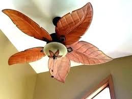 leaf ceiling fan. Palm Leaf Ceiling Fan Blade Covers Harbor Breeze