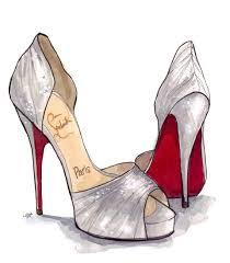 shoes heels drawing. pin drawn heels sketched #6 shoes drawing