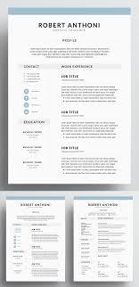 35 Best Minimal Cv Resume Templates Design Graphic
