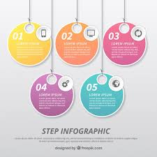 Infographic Template With Label Design Vector Free Download