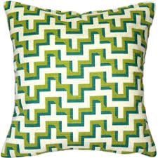 blue and green throw pillows. Lime Blue Zig Zag Throw Pillow 16x16 And Green Pillows