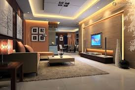 Design Ideas, Fabulous Led Lighting Beautify Wall And Ceiling Of Futuristic Tv  Room Designs Completed