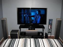 Awesome Home Theater In Bedroom Photo   1