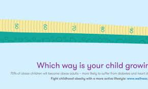 Interactive Growth Chart Singapore Wellness Association Fights Obesity With New
