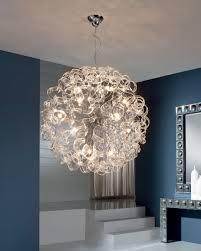 ball pendant lighting. Astounding Large Ball Pendant Light Globe Clear Crysltal Spiral Lighting